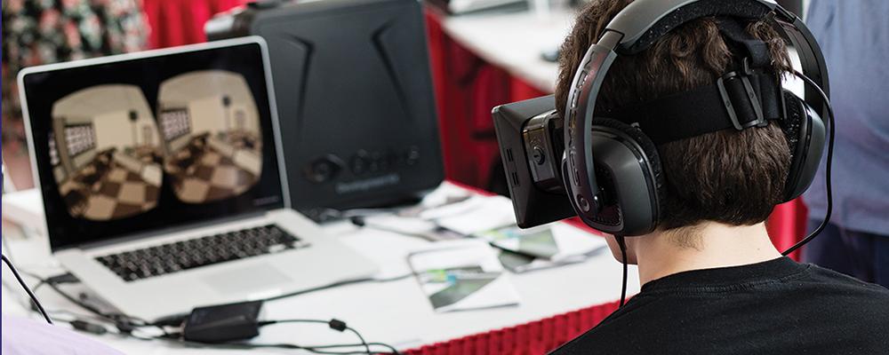Gaming demonstration at Hackathon