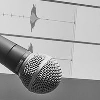 Microphone in the Advanced Computer Music Facility