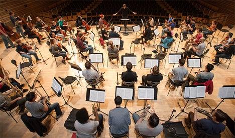 Rensselaer Orchestra practice