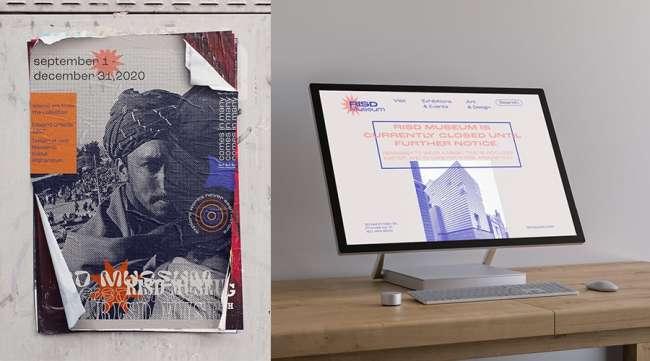 RISD Museum Rebranding by Mariam Elasser