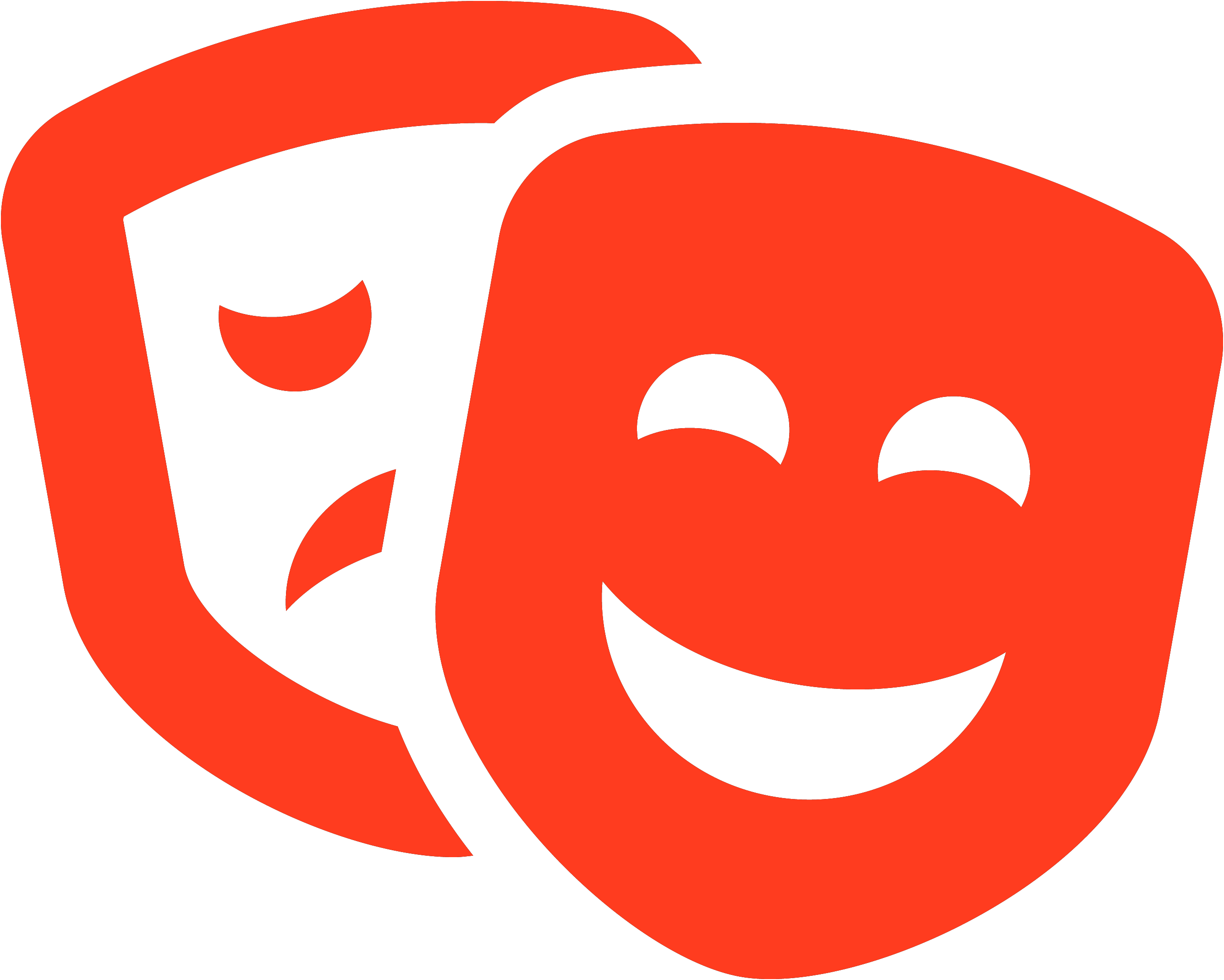 comedy/drama masks
