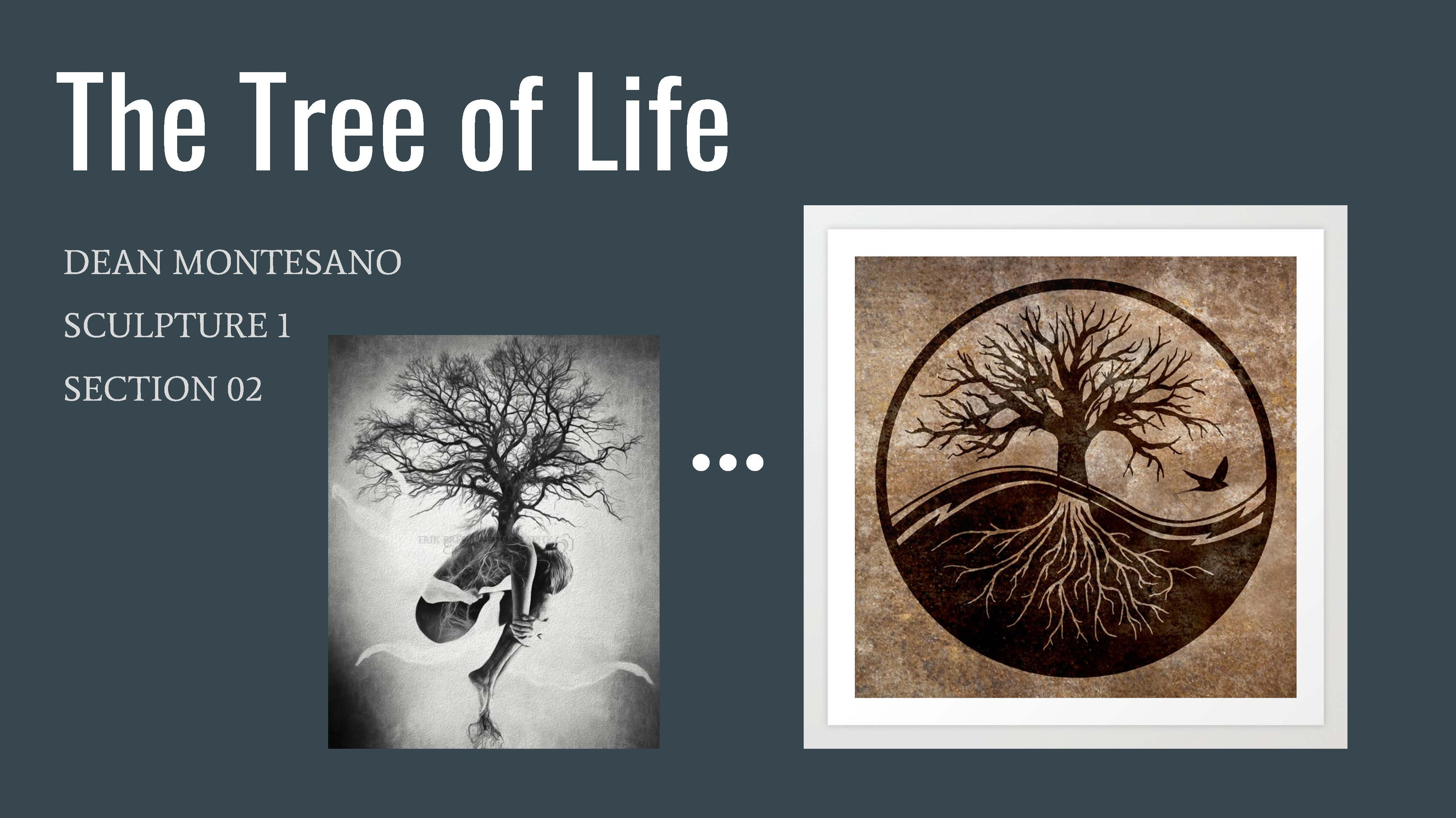 Sculpture 1 project - The tree of life