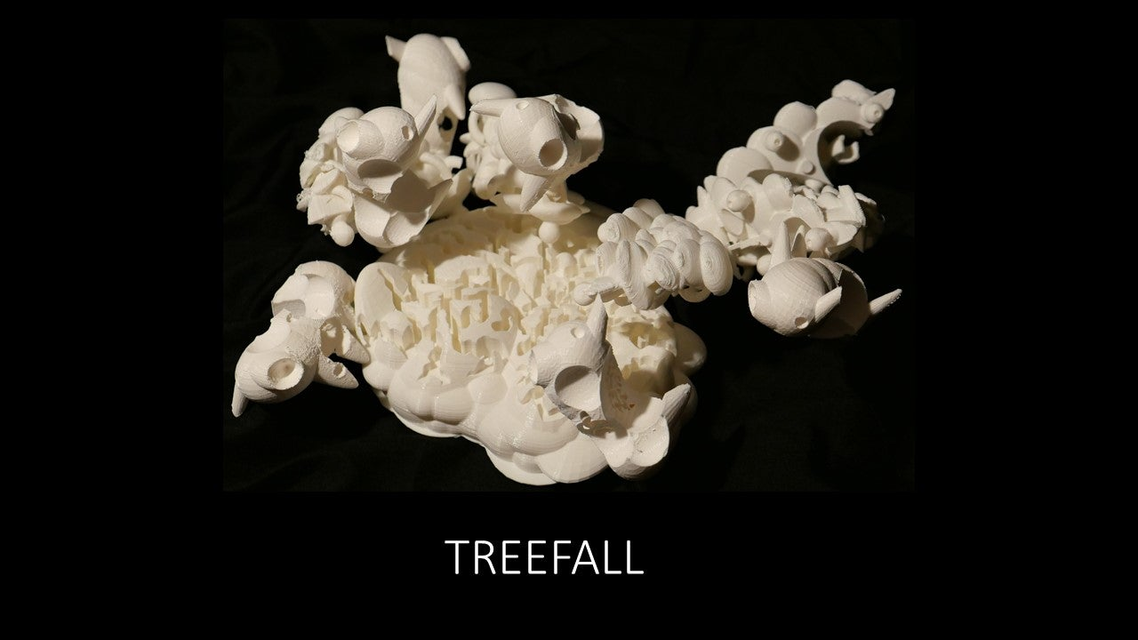 Sculpture 1 project - Treefall