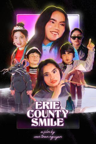 A poster promoting the film Erie County Smile depicting the cast